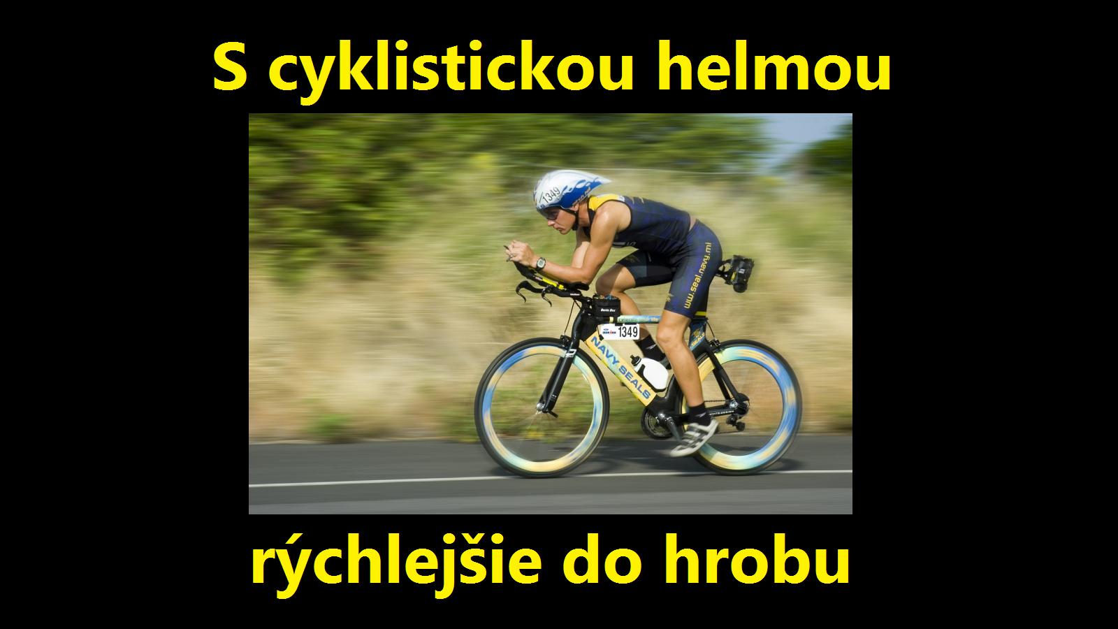 46dfb4756ff2d Cyklistické helmy ohrozujú cyklistov | NežerŠalát.sk - Blog o ...